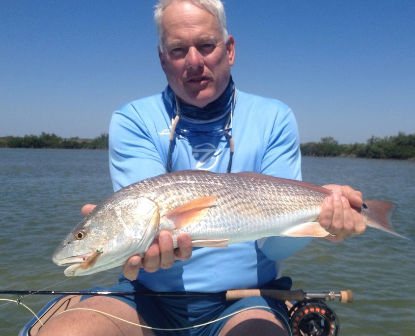 Spring Hill Red Drum on Fly