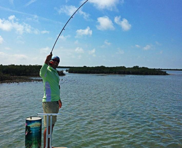 Fly fishing the flats Chassahowitza